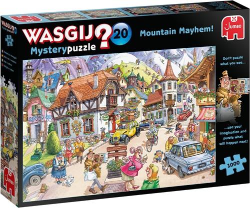 Wasgij Mystery 20 - Vakantie in de Bergen Puzzel (1000 stukjes)