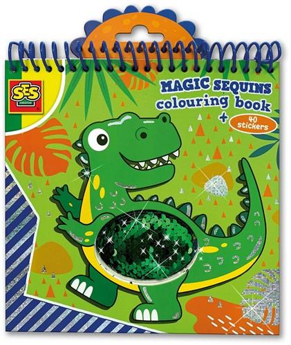 SES - Magic Pailletten Kleurboek