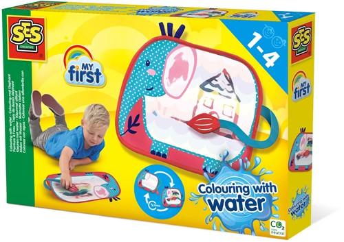 SES My First - Kleuren met Water Olifant