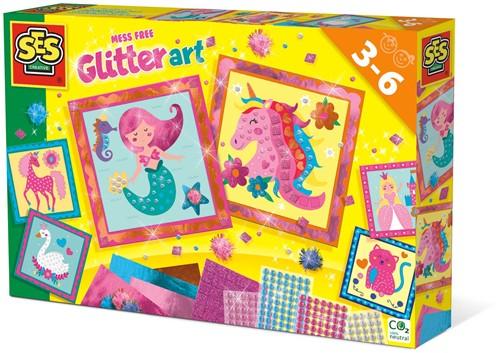 SES - Knoeivrije Glitter Kunst