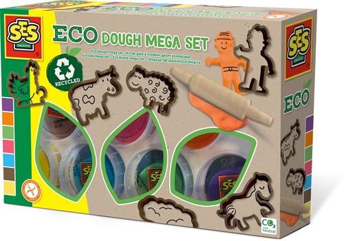 SES - Eco Klei Mega Set (7x90 gram met tools)