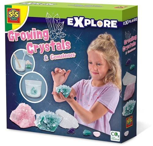 SES - Explore Groeiende Kristallen en Edelstenen