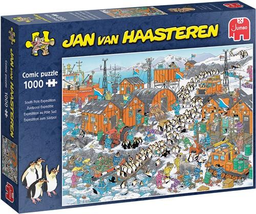 Jan van Haasteren - Zuidpool Expeditie (1000 stukjes)