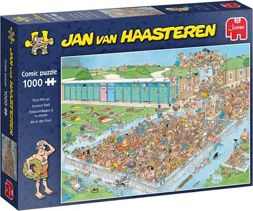 Jan van Haasteren - Bomvol Bad Puzzel (1000 stukjes)