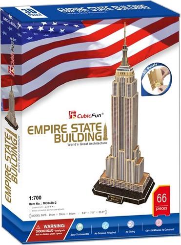 3D Puzzel - Empire State Building (66 stukjes)