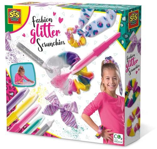 SES - Fashion Glitter Scrunchies