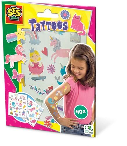 SES - Tattoos voor kinderen - Sprookjes