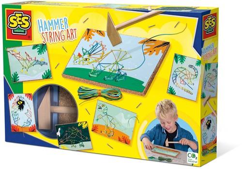 SES - Timmer String Art Dino's