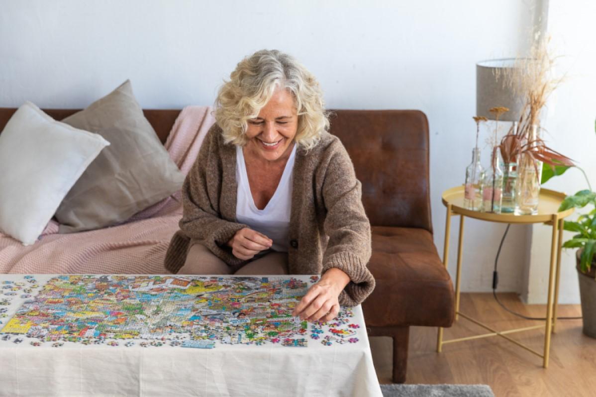 Jan Van Haasteren Het Ontbrekende Stukje Puzzel 1000 Stukjes Kopen Bij Spellenrijk Nl