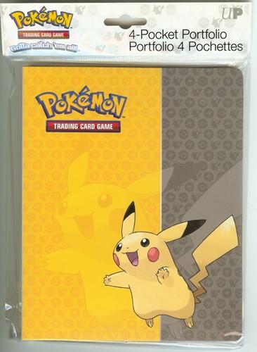Pokemon Lenticular Pikachu Verzamelmap 4-Pocket