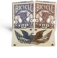 Bicycle Pokerkaarten - Civil War USA-2