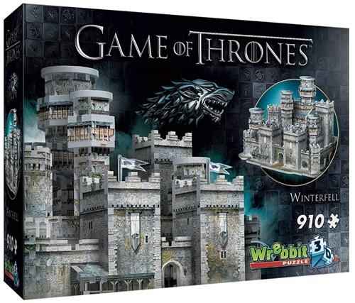 Wrebbit 3D Puzzle - Game of Thrones Winterfell (910 stukjes)