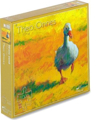 Witte Eend - Theo Onnes Puzzel (1000 stukjes)