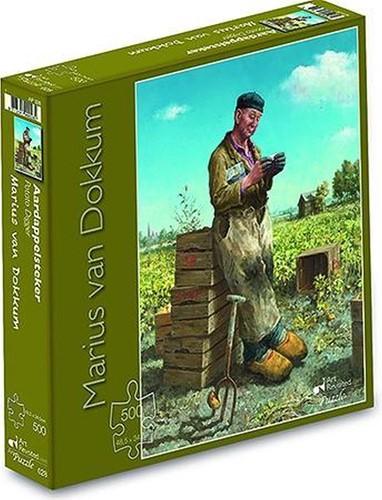 Marius van Dokkum - Aardappelsteker Puzzel (500 stukjes)