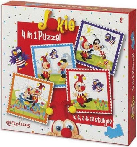 Jokie 4-in-1 Puzzel