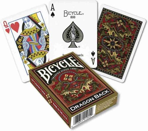 Bicycle Pokerkaarten - Gold Dragon Back