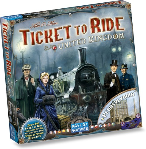 Ticket To Ride - United Kingdom Uitbreiding