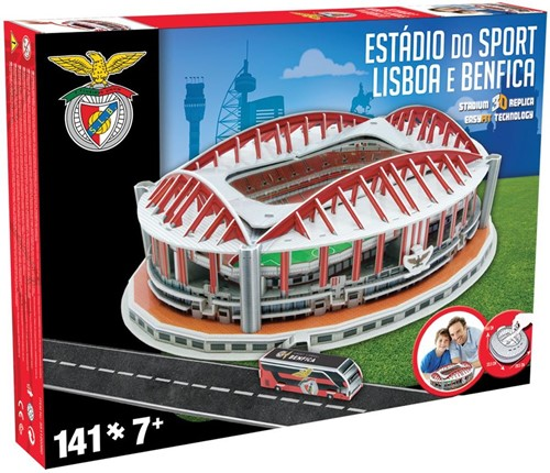 Benfica - Estadio Do Sport 3D Puzzel (141 stukjes)