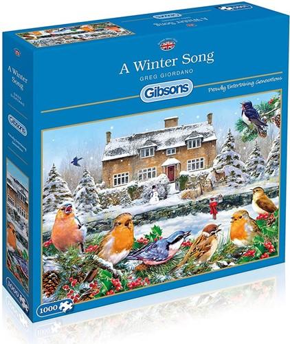 A Winter Song - Greg Giordiano Puzzel (1000 stukjes)