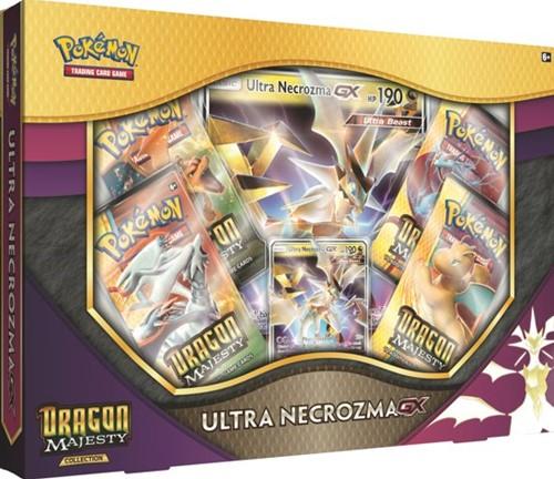Pokemon Dragon Majesty Ultra Necrozma GX Box