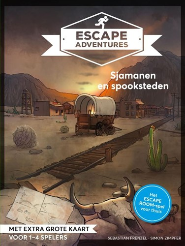 Escape Adventures - Sjamanen en Spookstadjes