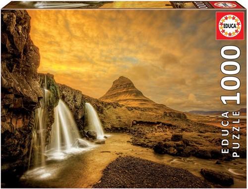 Kirkjufellsfoss Waterfall, Iceland Puzzel (1000 stukjes)