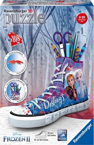 3D Puzzel- Frozen 2 Sneaker (108 stukjes)