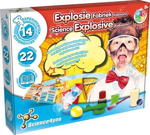 Science4You - Explosie Fabriek