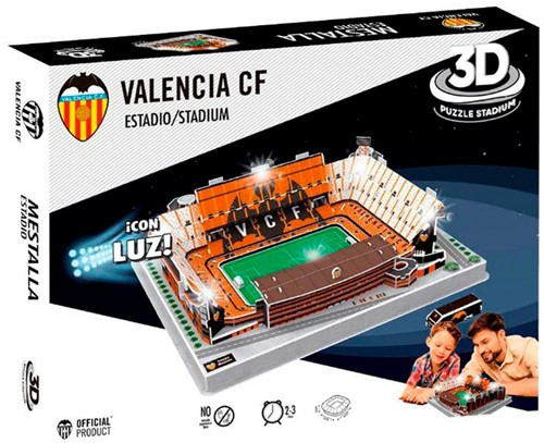 Valencia - Mestalla Estadio 3D Puzzel (87 stukjes)