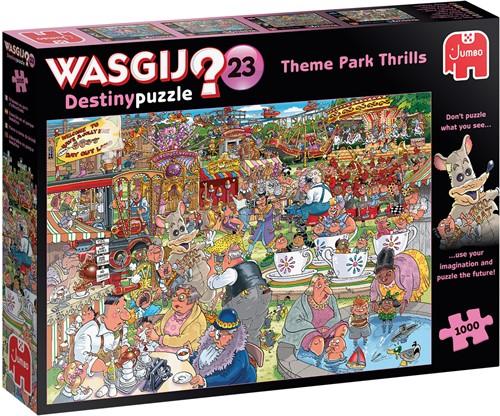 Wasgij Destiny 23 - Spektakel in het Pretpark (1000 stukjes)