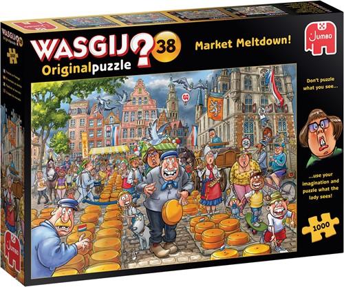 Wasgij Original 38- Kaasalarm Puzzel (1000 stukjes)