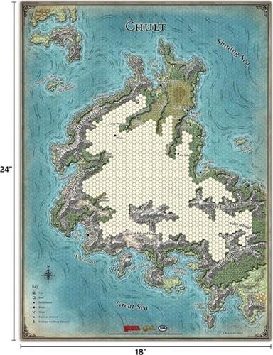 D&D Tomb Of Annihilation Map Set