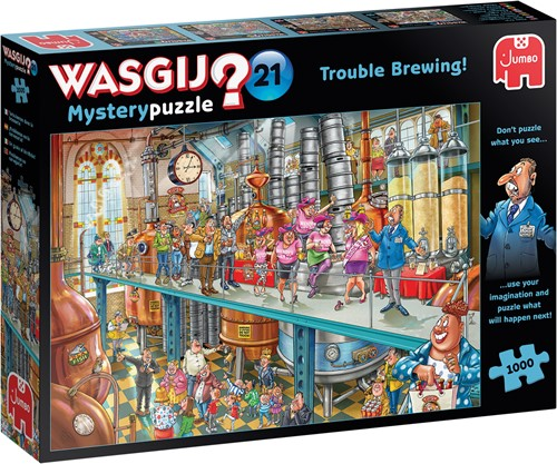Wasgij Mystery 21 - Leven in de Brouwerij! Puzzel (1000 stukjes)