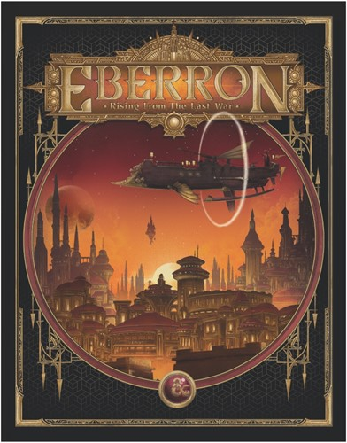 Dungeon & Dragons - Eberron Rising from the Last War Alternative Cover