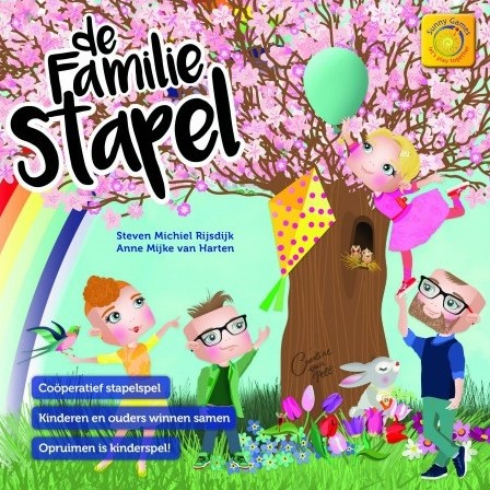 De Familie Stapel - Bordspel