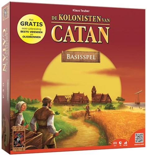 Catan + Oliebronnen + Beste Vrienden uitbreiding