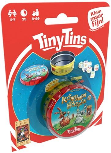 Tiny Tins: Konijnen Hokken - Dobbelspel