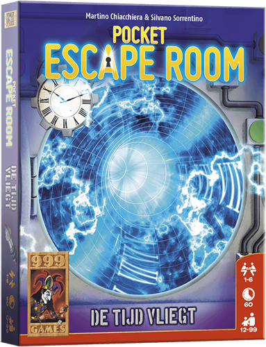 Pocket Escape Room - De Tijd Vliegt - Kaartspel