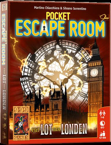 Pocket Escape Room - Het Lot van Londen - Kaartspel