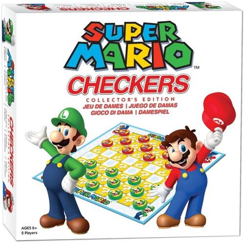Super Mario - Checkers