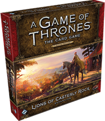Game of Thrones 2nd Edition - Lions of Casterly Rock Expansion