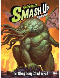 Smash Up Obligatory Cthulhu Set Expansion