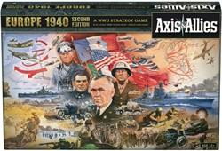 Axis & Allies Europe 1940 2nd edition (Doos beschadigd)