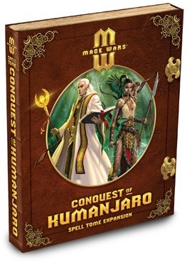 Mage Wars - Conquest of Kumanjaro Spell Tome Expansion-1