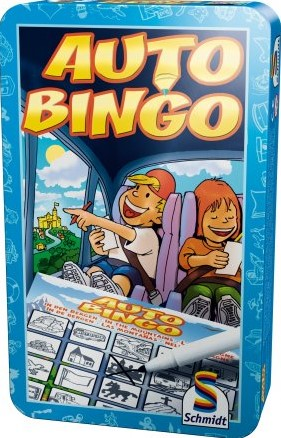 Auto Bingo in tin box pocket editie