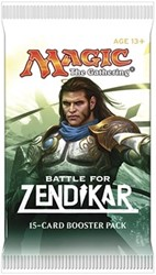 MTG Battle for Zendikar Boosterpack