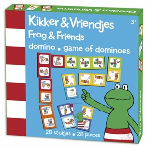 Kikker en vriendjes domino