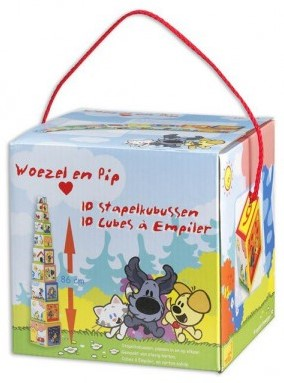 Woezel & Pip - Kartonnen Stapelblokken-1