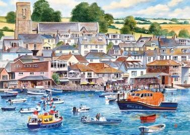 Salcombe Harbour Puzzel (1000 stukjes)