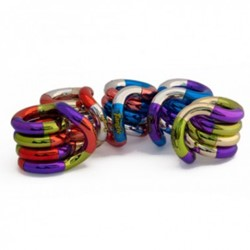 Tangle Junior - Metallic Tri-Colour